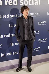 06.10.2010, Villamagna Hotel, Madrid, ESP, Photocall, The Social Network, im Bild Jessie Eisenberg attends 'The Social Network' photocall at the Villamagna Hotel. EXPA Pictures © 2010, PhotoCredit: EXPA/ IPS/ Marcello Pozzetti +++++ ATTENTION - OUT OF ENGLAND/UK +++++