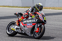 Sandro Cortese of Germany and Dynavol Intact GP Team rides during free practice for the Moto2 of Catalunya at Circuit de Catalunya on June 9, 2017 in Montmelo, Spain.(ALTERPHOTOS/Rodrigo Jimenez)