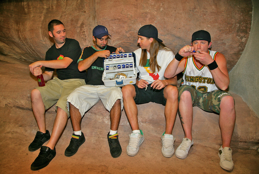 Rebelution Tackle Box and Tunnel - Reggae on the Rocks, Red Rocks Amphitheater