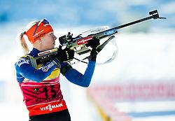 MAKARAINEN Kaisa (FIN) competes during Women 10 km Pursuit at day 3 of IBU Biathlon World Cup 2014/2015 Pokljuka, on December 20, 2014 in Rudno polje, Pokljuka, Slovenia. Photo by Vid Ponikvar / Sportida