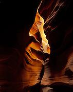 Lower Antelope Canyon, Page Arizona, 2000.