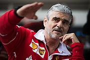 October 19-22, 2017: United States Grand Prix. Maurizio Arrivabene, team principal of Scuderia Ferrari