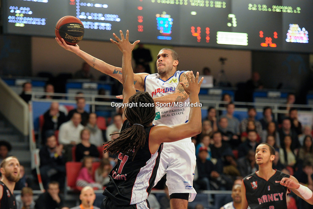 Blake Schilb - 27.12.2014 - Paris Levallois / Nancy - 15eme journee de Pro A<br />Photo : Andre Ferreira / Icon Sport