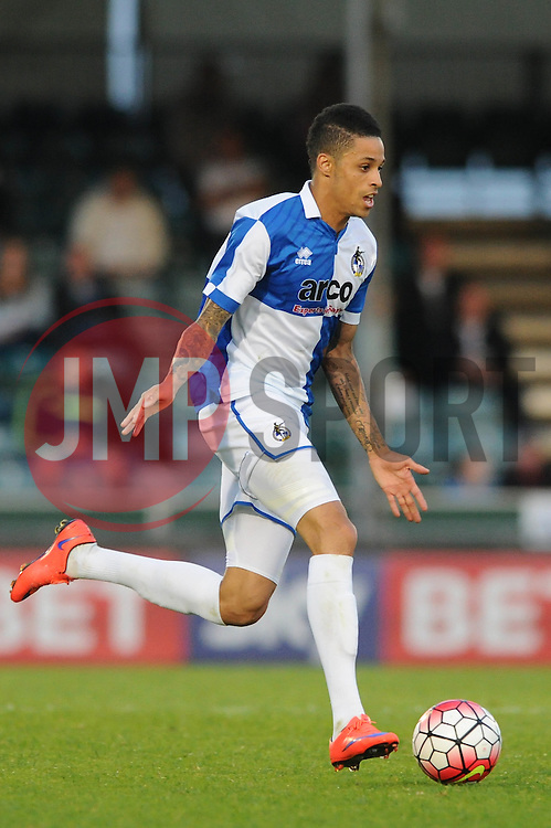 Daniel Leadbitter of Bristol Rovers - Mandatory byline: Dougie Allward/JMP - 07966386802 - 31/07/2015 - FOOTBALL - Memorial Stadium -Bristol,England - Bristol Rovers v West Brom - Phil Kite Testimonial Match