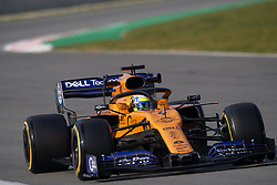 February 19, 2019 - Barcelona, Barcelona, Spain - Lando Norris of United Kingdom driving the (4) McLaren F1 Team MCL34 during day two of F1 Winter Testing at Circuit de Catalunya on February 19, 2019 in Montmelo, Spain. (Credit Image: © Jose Breton/NurPhoto via ZUMA Press)
