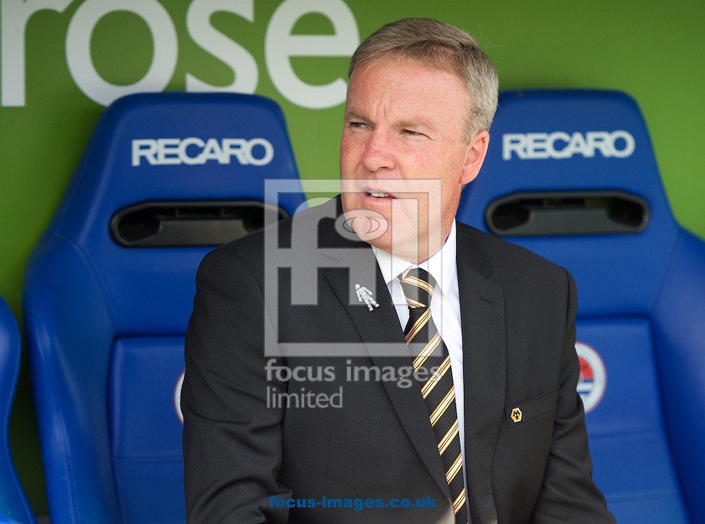 Manager Kenny Jackett of Wolverhampton Wanderers before the Sky Bet Championship match at the Madejski Stadium, Reading<br /> Picture by Alan Stanford/Focus Images Ltd +44 7915 056117<br /> 28/09/2014