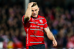 Jason Woodward of Gloucester Rugby - Mandatory by-line: Robbie Stephenson/JMP - 16/11/2018 - RUGBY - Kingsholm - Gloucester, England - Gloucester Rugby v Leicester Tigers - Gallagher Premiership Rugby