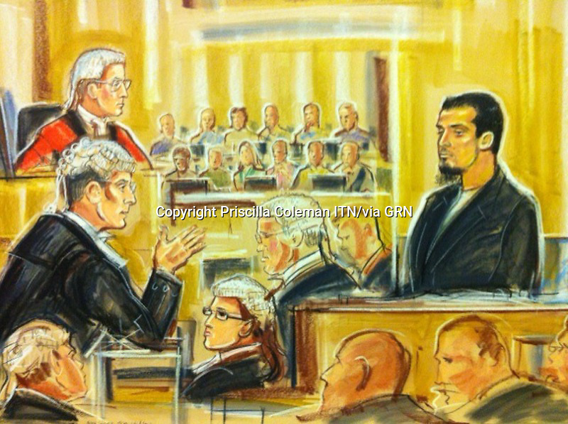 BA call centre worker Rajib Karim admits terror charges<br /> Woolwich Crown Court, 31 Jan 2011