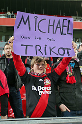 05.11.2011,  BayArena, Leverkusen, GER, 1.FBL, Bayer 04 Leverkusen vs Hamburger SV, im Bild.Ein Leverkusener Fan hätte gerne das Trikot von Michael Ballack (Leverkusen #13)..// during the 1.FBL, Bayer Leverkusen vs Hamburger SV on 2011/11/05, BayArena, Leverkusen, Germany. EXPA Pictures © 2011, PhotoCredit: EXPA/ nph/  Mueller       ****** out of GER / CRO  / BEL ******