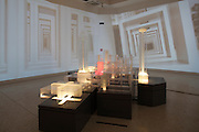 "12th Biennale of Architecture. Giardini. U.S.A. Pavillion. ""Workshopping; An American Model of Architectural Practice."".John Portman & Associates, ""Peachtree Center""."