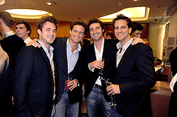 Brit Award nominated band BLAKE (Oliver Baines, Stephen Bowman, Jules Knight and Dominic Tigheat) at a party hosted by Links of London to launch their new Driver Chicane Chronograph Watch held at Lonks, Sloane Square, London on 24th September 2008.