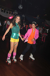 KATE MIDDLETON and SAM WALEY-COHEN at a Roller Disco in aid of Tom's Ward at the Children's Hospital in Oxford and the charity Place2Be, held at The Renaissance Rooms, London SW8 on the 17th September 2008.<br /> KATE MIDDLETON and SAM WALEY-COHEN at a Roller Disco in aid of TomÕs Ward at the ChildrenÕs Hospital in Oxford and the charity Place2Be, held at The Renaissance Rooms, London SW8 on the 17th September 2008.