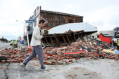 Christchurch-6.3 Earthquake aftermath