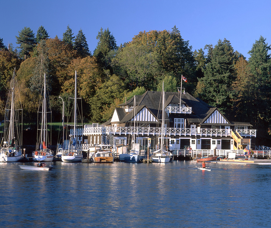Rowing Club, Stanley Park, Vancouver, British Columbia, Canada