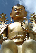 Buddha at temple - Ley - Ladakh 2006