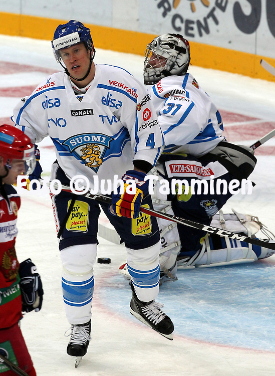 10.11.2011, Hartwall-Areena, Helsinki, Finland..Euro Hockey Tour - Karjala-turnaus 2011. Suomi - Venj / Finland v Russia..Ossi Vnnen - Suomi..