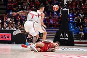 Micov Vladimir<br /> A|X Armani Exchange Olimpia Milano - Grissin Bon Reggio Emilia<br /> Basket Serie A LBA 2019/2020<br /> Milano 01 December 2019<br /> Foto Mattia Ozbot / Ciamillo-Castoria
