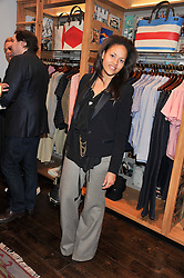 RACHEL BARRETT at the opening of the new Jack Spade store at 83 Brewer street, London on 29th March 2012.