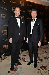 Left to right, the HON.HARRY HERBERT and LAURENT FENIOUat the 26th Cartier Racing Awards held at The Dorchester, Park Lane, London on 8th November 2016.