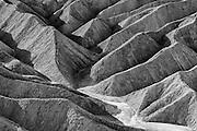 Badlands at Zabriskie Point inside Death Valley National Park