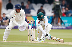 Pakistan's Azhar Ali during day two of the First NatWest Test Series match at Lord's, London.