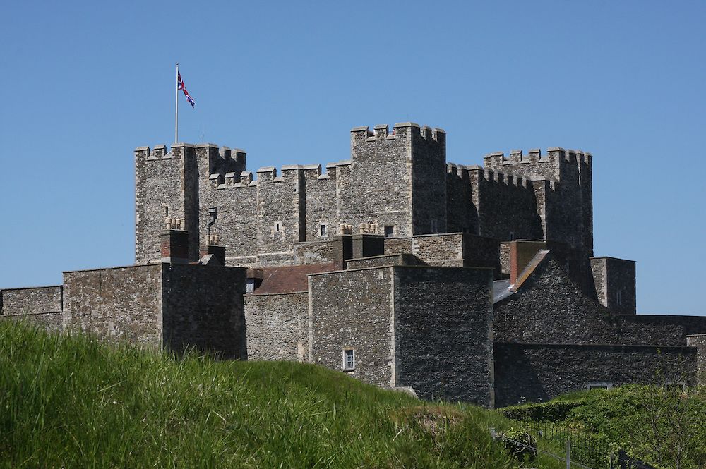 Founded in the 12th Century, Dover Castle has been described as the &quot;Key to England&quot; due its defensive position.<br /> <br /> The strait of Dover is the shortest point across the English Channel to mainland Europe, giving this position tremendous importance throughout history