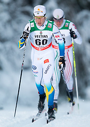 30.11.2014, Nordic Arena, Ruka, FIN, FIS Weltcup Langlauf, Kuusamo, 15 km Herren, im Bild Lars Nelson (SWE) // Lars Nelson of Sweden during Mens 15 km Cross Country Race of FIS Nordic Combined World Cup at the Nordic Arena in Ruka, Finland on 2014/11/30. EXPA Pictures © 2014, PhotoCredit: EXPA/ JFK