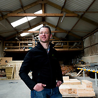 Aidan Hennessy of Hennessy Timber Group pictured at one of their manufacturing plants near Clonakilty, West Cork. <br /> Picture: Emma Jervis Photography