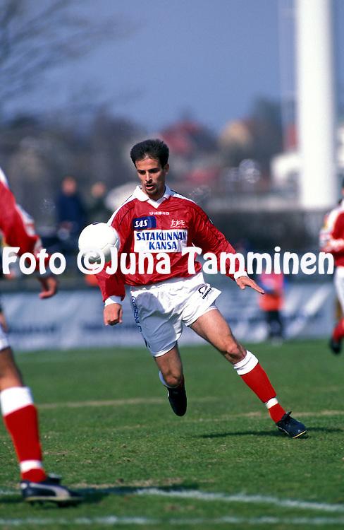 09.05.1999, Turku, Finland..Veikkausliiga  / Finnish League..Marco Pogioli - FC Jazz.©Juha Tamminen
