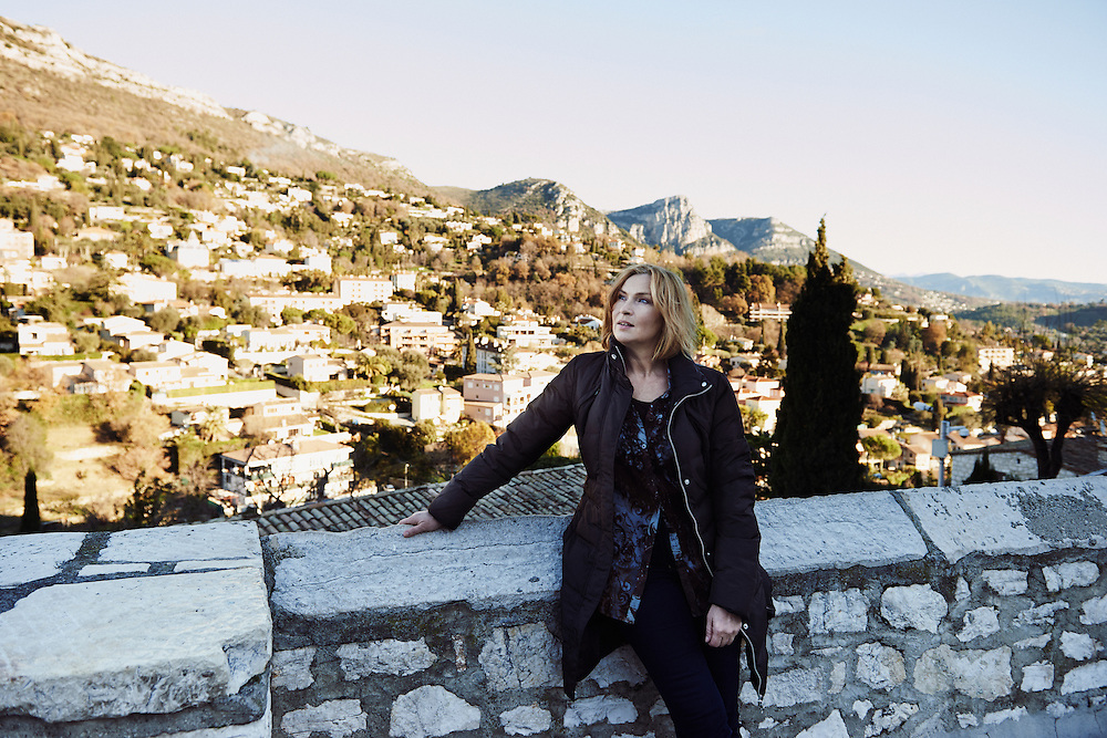 VENCE, FRANCE. JANUARY 3, 2012. Actress Sari Havas often comes to Vence, in the south of France, where she has an appartment. Photo: Antoine Doyen