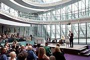 Sadiq Khan, Mayor launches a search for the first ever London Borough of Culture at a ceremony at City Hall, London, Great Britain <br /> 30th June 2017 <br /> <br /> <br /> <br /> <br /> Sadiq Khan, Mayor London <br /> <br /> <br /> <br /> <br /> Photograph by Elliott Franks <br /> Image licensed to Elliott Franks Photography Services