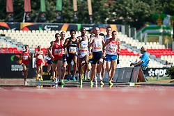 KHRUSTALEV Viacheslav, KORC Rafal, PAIVA Lius Arturo, MADRIL Jorge, FREITAS Samuel, RUS, POL, VEN, ARG, POR, 1500m, T20, 2013 IPC Athletics World Championships, Lyon, France