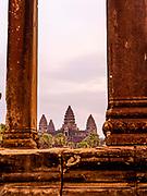 Image of Angkor Wat Temple; Angkor Wat Archeological Park, Siem Reap, Cambodia.
