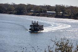 Brazos River Boat/MIKE LEEBRON,Belles Landing