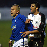 Ayr Utd v St Johnstone...13.12.03<br />Mixu Paatelainen and David Craig<br /><br />Picture by Graeme Hart.<br />Copyright Perthshire Picture Agency<br />Tel: 01738 623350  Mobile: 07990 594431