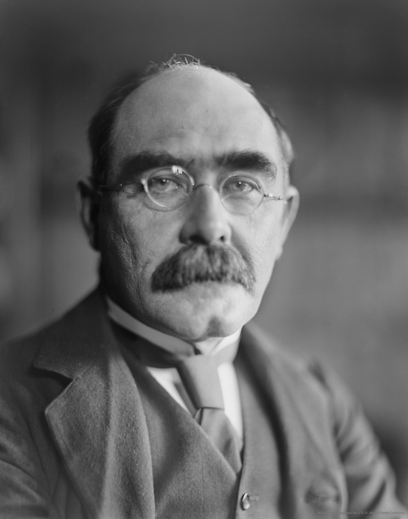 Rudyard Kipling, English Author, 1912