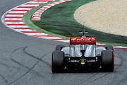 February 19, 2013 - Barcelona Spain. Jenson Button, Vodafone McLaren Mercedes  during pre-season testing from Circuit de Catalunya.