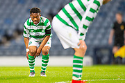Karamoko Dembele (#7) of Celtic FC during the Scottish FA Youth Cup Final match between Celtic and Rangers at Hampden Park, Glasgow, United Kingdom on 25 April 2019.