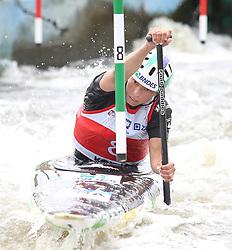 July 1, 2018 - Krakow, Poland - 2018 ICF Canoe Slalom World Cup 2 in Krakow. Day 2. On the picture: ANA SATILA (Credit Image: © Damian Klamka via ZUMA Wire)