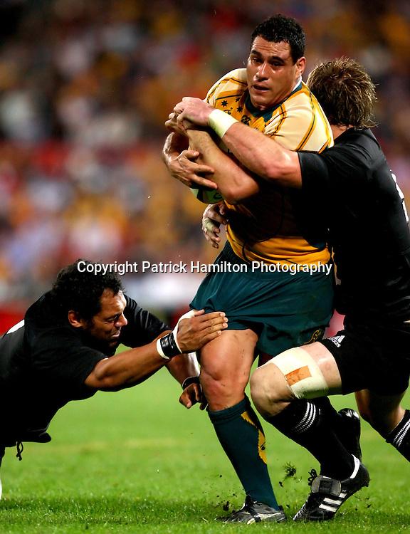 George Smith.All Blacks v Australia Tri Nations Rugby Union Test Match. Suncorp Stadium ,Brisbane. Australia,Saturday 13 September 2008 .
