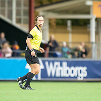 2019-10-13 | Malmö, Sweden: Referee Pernilla Larsson during the game between FC Rosengård and Linköpings FC at Malmö IP ( Photo by: Roger Linde | Swe Press Photo )<br /> <br /> Keywords: Malmö IP, Malmö, Soccer, OBOS Damallsvenskan, FC Rosengård, Linköpings FC, rl191013