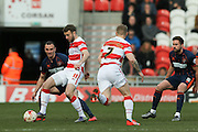 Doncaster Rovers forward Andy Williams (11)  during the Sky Bet League 1 match between Doncaster Rovers and Blackpool at the Keepmoat Stadium, Doncaster, England on 28 March 2016. Photo by Simon Davies.