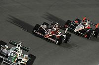 Scott Dixon, Helio Castroneves, Cafes do Brasil Indy 300, Homestead Miami Speedway, Homestead, FL USA,10/2/2010