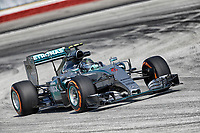 ROSBERG nico (ger) mercedes gp mgp w06 action during 2015 Formula 1 FIA world championship, Malaysia Grand Prix, at Sepang from March 27th to 30th. Photo Francois Flamand / DPPI