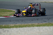 February 20, 2013 - Barcelona Spain. Sebastian Vettel, Red Bull Racing   during pre-season testing from Circuit de Catalunya.
