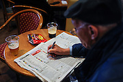 Fairyhouse horse races, betting at hippodrome's pub.