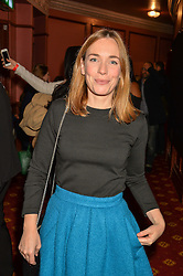 LAURA MAIN at an after show party following the opening of Peter Pan at the New Wimbledon Theatre, 93 The Broadway, London on 8th December 2015.
