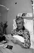 15/02/1984<br /> 02/15/1984<br /> 15 February 1984<br /> Cork hurling coach, Johnny Clifford, recovering in the Mater Hospital in Dublin.