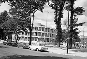 03/08/1967<br /> 08/03/1967<br /> 03 August 1967<br /> Exterior of United States Embassy, Ballsbridge, Dublin.