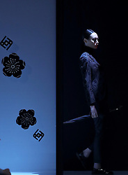 A model presents fashion creations designed by Liu Yong during a fashion show titled Henry Herbert Liu Yong Private Custom Collection at China Fashion Week in Beijing, capital of China, March 31, 2016. EXPA Pictures © 2016, PhotoCredit: EXPA/ Photoshot/ Chen Jianli<br /> <br /> *****ATTENTION - for AUT, SLO, CRO, SRB, BIH, MAZ, SUI only*****